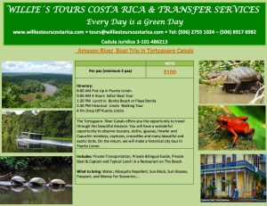 Amazon River Boat Trip in Tortuguero Canals